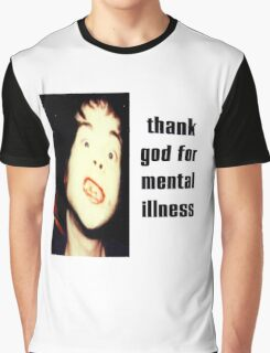 The Brian Jonestown Massacre - Thank God for Mental Illness Graphic T-Shirt