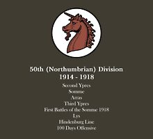 50th (Northumbrian Division. Unisex T-Shirt