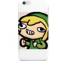 Link fsjal notbook iPhone Case/Skin