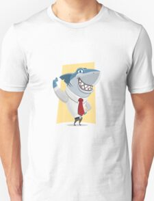 Shark man Unisex T-Shirt