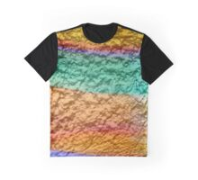 Golden Abstract Graphic T-Shirt