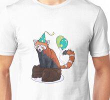 Red Panda Party Unisex T-Shirt