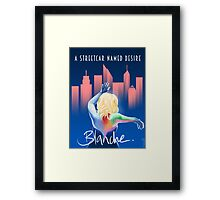 Blanche - NYC Framed Print