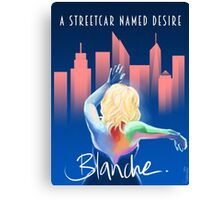 Blanche - NYC Canvas Print