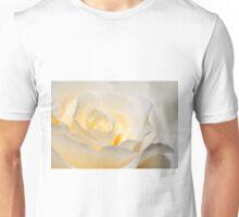 White Rose Blooming Unisex T-Shirt