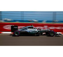 Nico Rosberg  Photographic Print