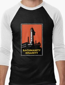 Alcatraz Bachmanity Insanity - Silicon Valley Men's Baseball ¾ T-Shirt