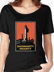 Alcatraz Bachmanity Insanity - Silicon Valley Women's Relaxed Fit T-Shirt