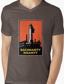 Alcatraz Bachmanity Insanity - Silicon Valley Mens V-Neck T-Shirt