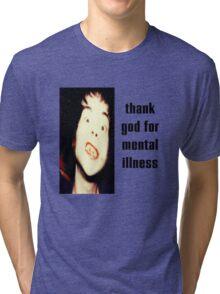 The Brian Jonestown Massacre - Thank God for Mental Illness Tri-blend T-Shirt