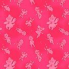 Mini Bears - Scatter Shot! (Pink) by Curtis Bathurst