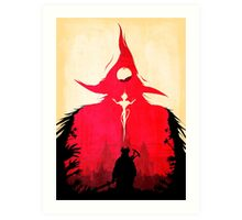 BLOODBORNE - Double Exposure  Art Print