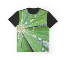 Lupin Leaf Graphic T-Shirt