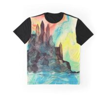 Fairytale Castle Graphic T-Shirt