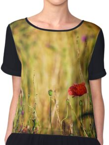 Into the Unknown Chiffon Top