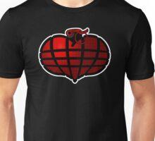 Heart Grenade : Red Unisex T-Shirt