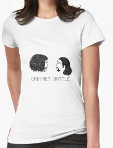 Jefferson Hamilton Cabinet Battle Womens Fitted T-Shirt