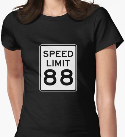 88 Miles Per Hour Womens Fitted T-Shirt