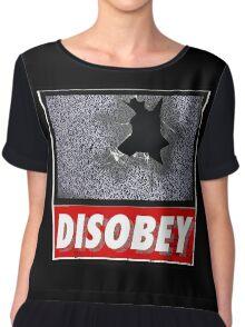 Disobey TV Chiffon Top