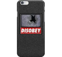 Disobey TV iPhone Case/Skin