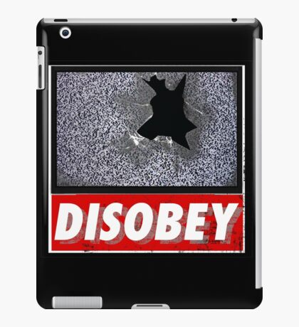 Disobey TV iPad Case/Skin