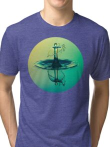 Water Drop Tri-blend T-Shirt