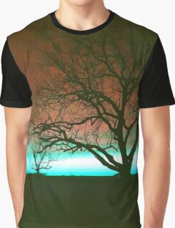 ViewsFromTheAether Tree Silhouette Graphic T-Shirt
