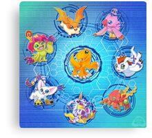 Digital Dimension Canvas Print