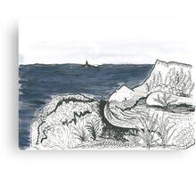 Woman landscape  Canvas Print