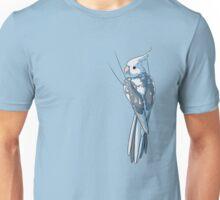 Whiteface Pied Cockatiel Unisex T-Shirt
