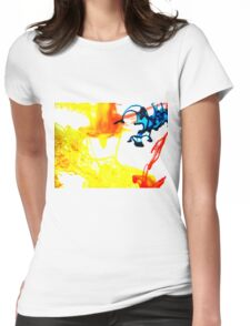 Dye #9 Womens Fitted T-Shirt