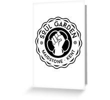 Soul Garden Logo - Maidstone Kent Greeting Card