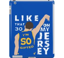 30 ON MY JERSEY iPad Case/Skin
