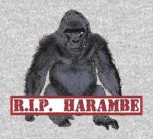 Harambe RIP Harambe the Gorilla Baby Tee