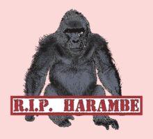 Harambe RIP Harambe the Gorilla One Piece - Long Sleeve