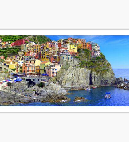 Manarola - Gem of the Cinque Terre Sticker