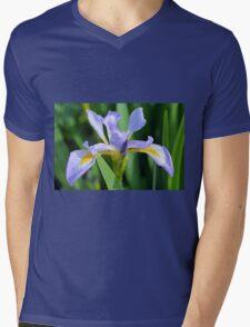 Water Iris Mens V-Neck T-Shirt