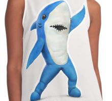 Left Shark Contrast Tank
