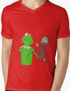 Henson and Kermit Mens V-Neck T-Shirt