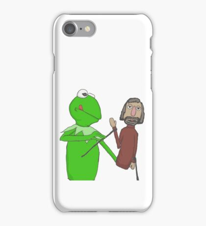 Henson and Kermit iPhone Case/Skin