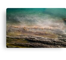 Rock at Manganari Bay Canvas Print
