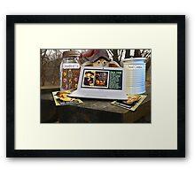 Deep Woods Informant on Oven Homicide Framed Print
