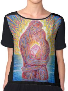 Alex Grey Colourfull 7 Chiffon Top