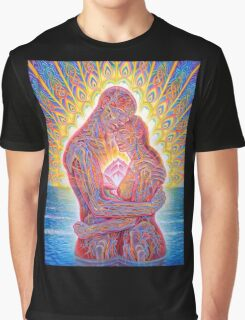 Alex Grey Colourfull 7 Graphic T-Shirt