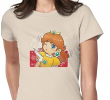 Princess Daisy - Blow Kiss Womens Fitted T-Shirt