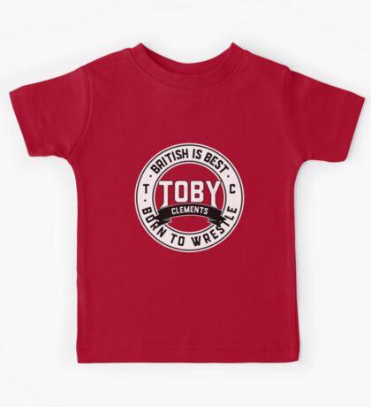 Toby Clements 'British Is Best' Artwork #4 Kids Tee