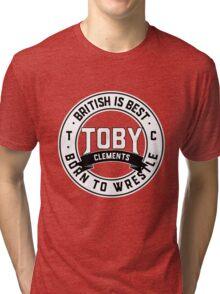 Toby Clements 'British Is Best' Artwork #4 Tri-blend T-Shirt