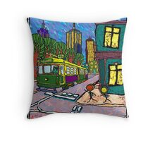 We Live in the City too Throw Pillow