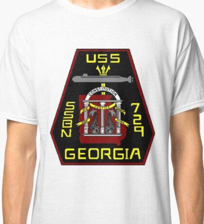 USS Georgia SSBN 729 Crest Classic T-Shirt