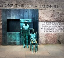 FDR Monument by Bine